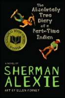 Book cover for The Absolutely True Diary of a Part-Time Indian