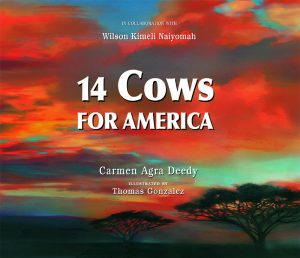 Worlds of Words discusses global perspectives, starting with 14 Cows for America