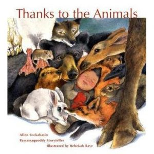 Thanks to the Animals cover, Native American children's books featuring animals