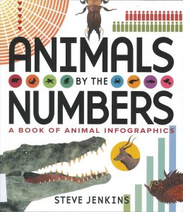 Animals by the Numbers: A Book of Animal Infographics by Steve Jenkins
