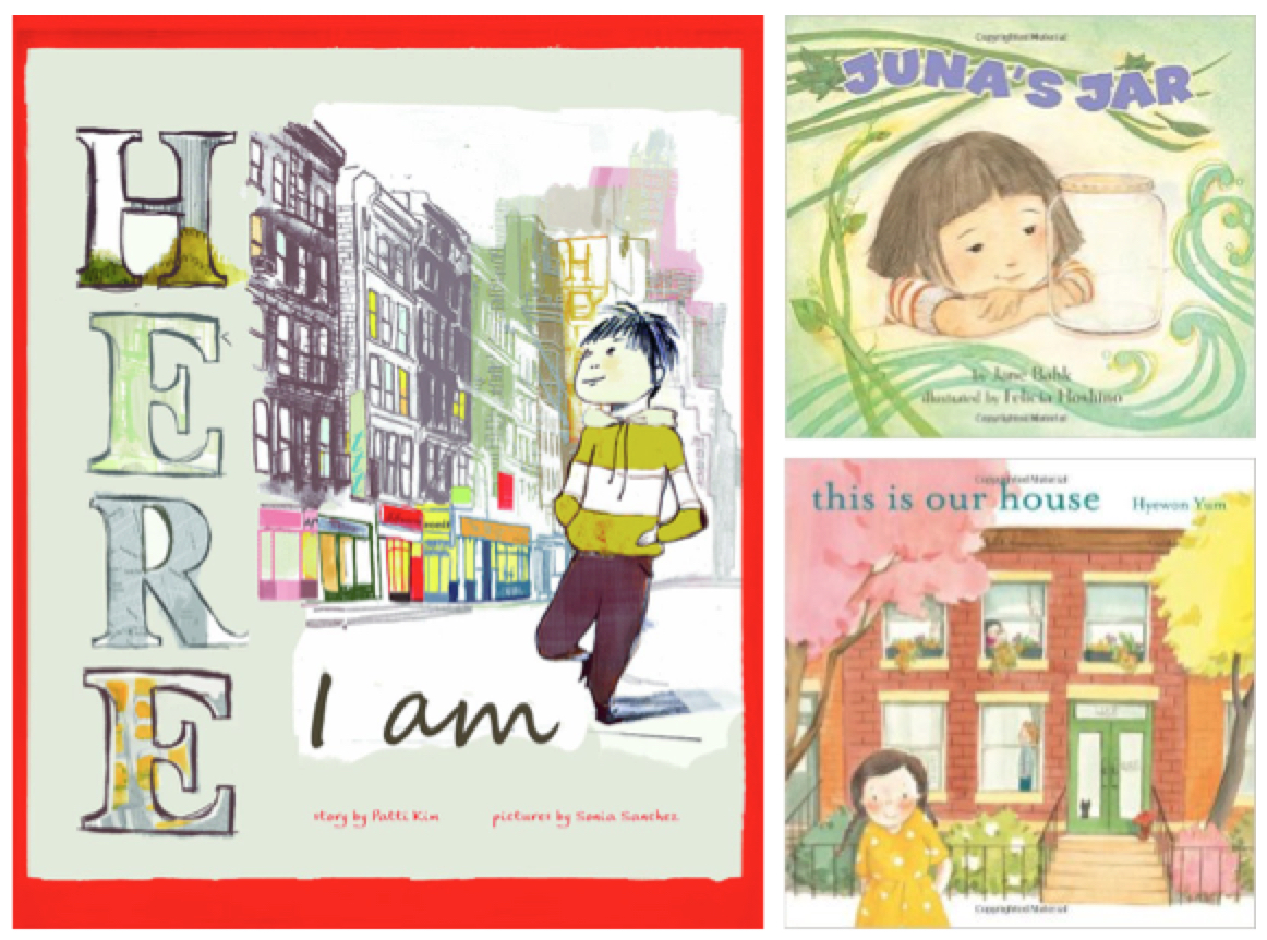 transnational Korean children's books, Here I Am, Juna's Jar, This is Our House