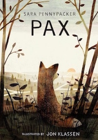 Pax by by Sara Pennypacker and illustrated by Jon Klassen