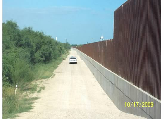 U.S. Mexico border wall, crossing borders