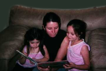 Figure 1b. Family Reads Together.