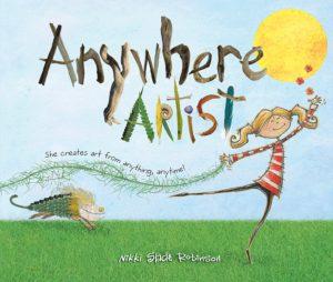 Anywhere Artist by Nikki Slade Robinson