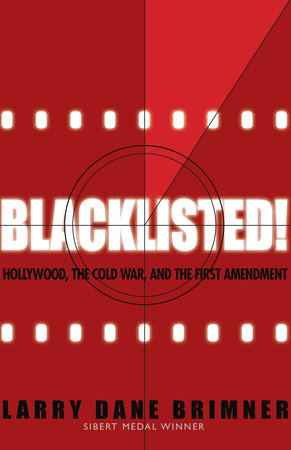 Blacklisted Cover Red Filmstrip Background