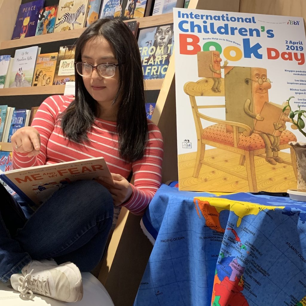Carolina Hoyos Slow Reading for International Children's Book Day