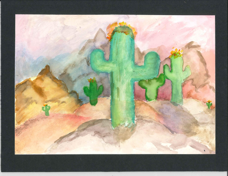 Tucson High Magnet School art