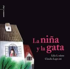 La niña y la gata por Lilia Lardona