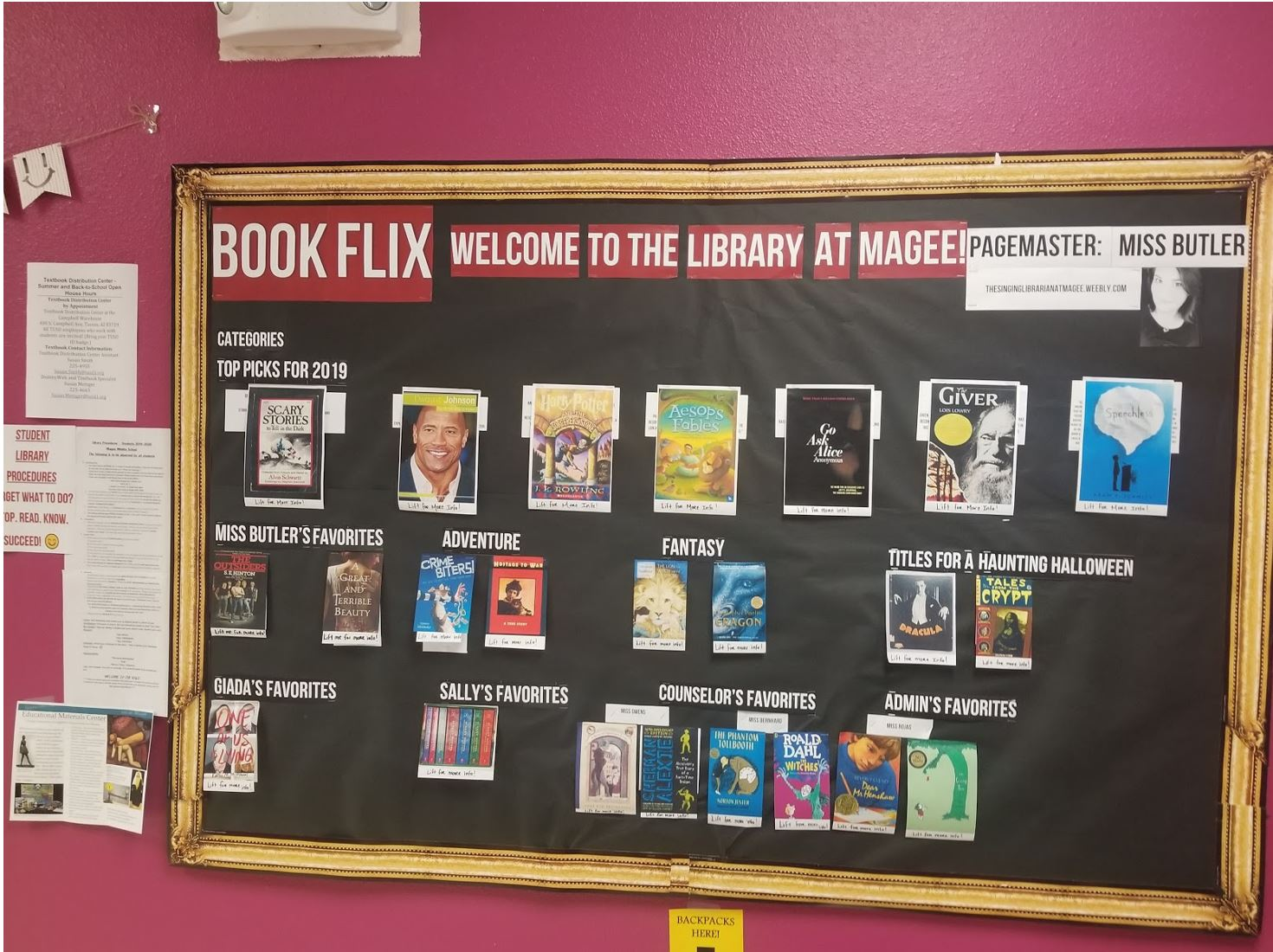 Book Flix Wall