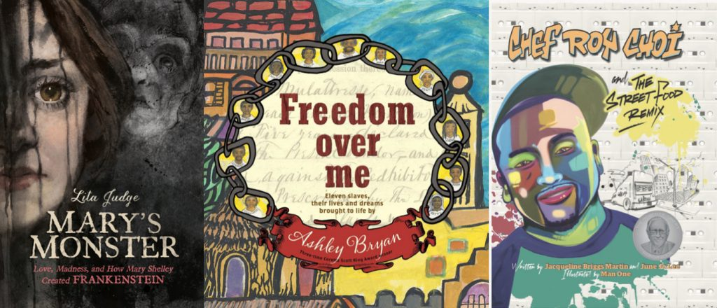 3 Inspiring Biographies: Freedom Over Me, Mary's Monster and Chef Roy Choi
