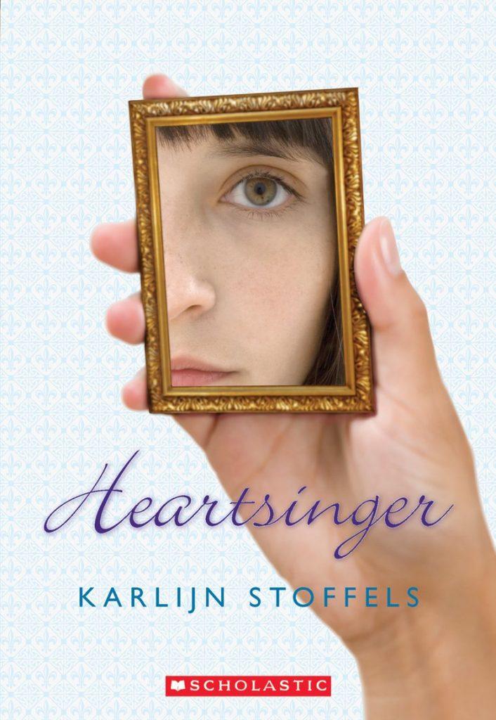 Book jacket for Heartsinger by Karlijn Stoffles