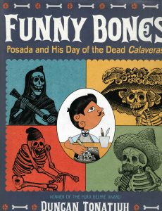 Cover of Funny Bones: Posada and his Day of the Dead Calaveras