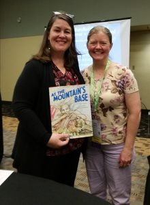 Teresa Johnston with Traci Sorell at NCTE.