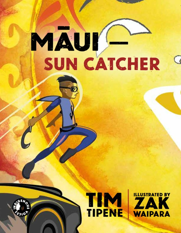 Maui Sun Catcher Cover depicts young boy leaping towards a large sun