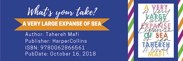 Decorative Header for A Very Large Expanse of Sea has bibliographic information also available at end of post.