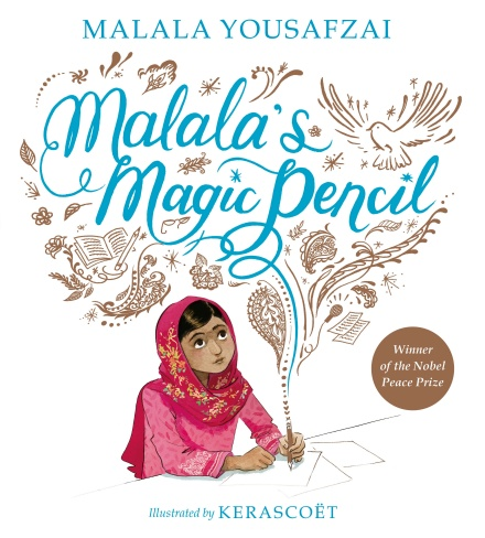 Malala's Magic Pencil Cover as described in post