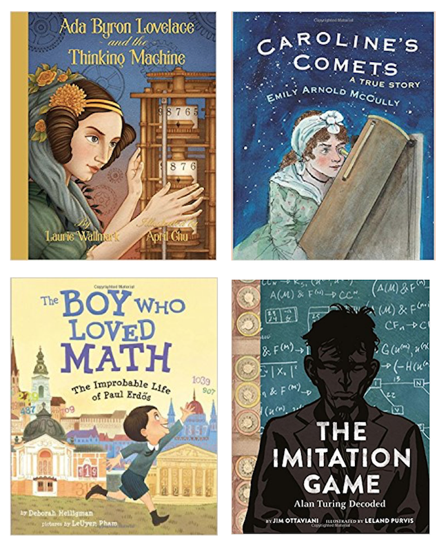 Biographies of Mathematicians for Young People