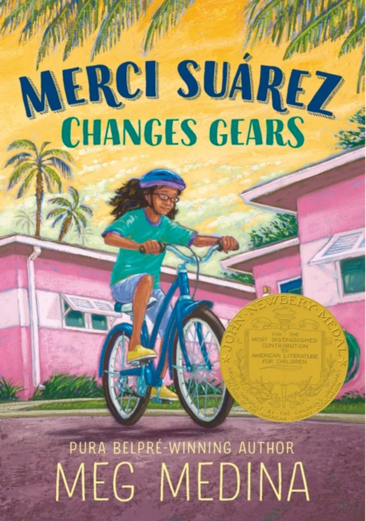 Cover for Merci Suárez Changes Gears by Meg Medina