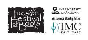 Tucson Festival of Books logo with sponsors listed