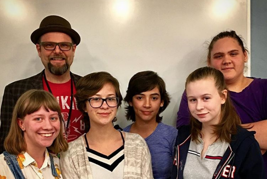 Teen Reading Ambassadors with Alan Gratz
