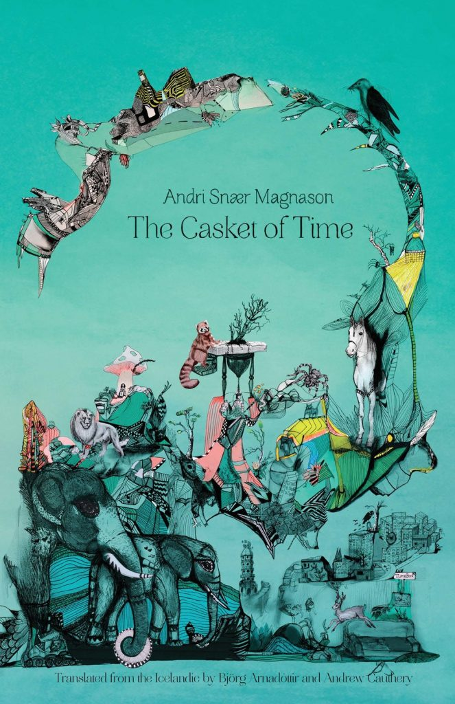 Cover for The Casket of Time by Andri Snær Magnason