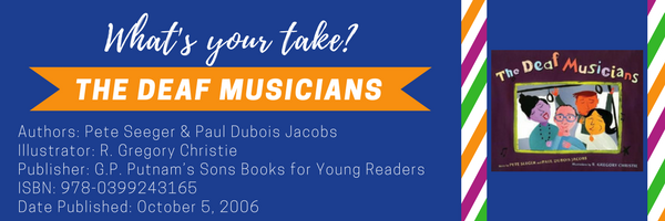My Take Your Take, global perspectives, The Deaf Musicians