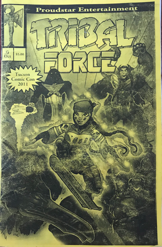 Indigenous Comics: Tribal Force