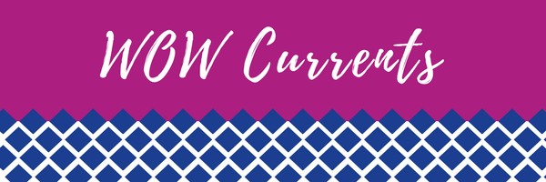 Decorative WOW Currents Banner