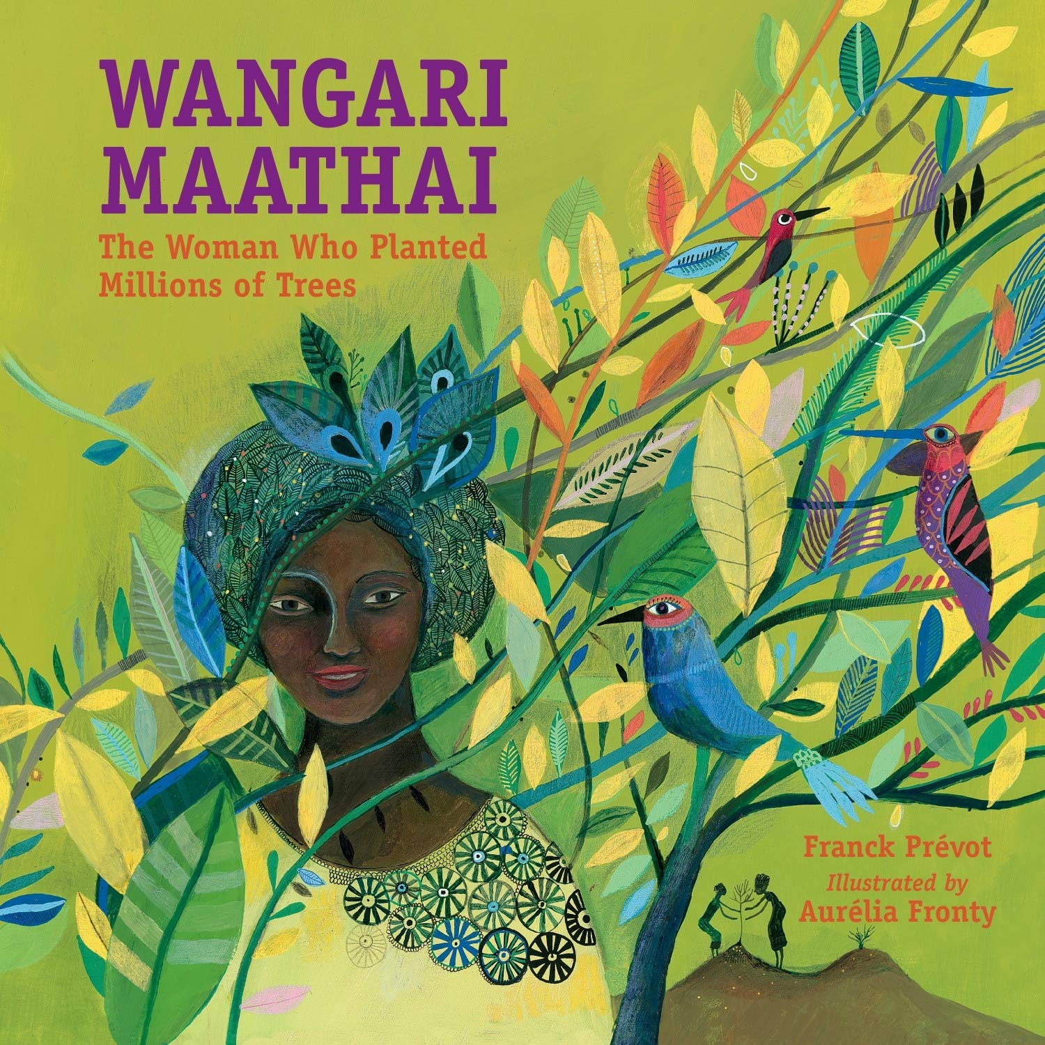 Book cover for Wangari Maathai