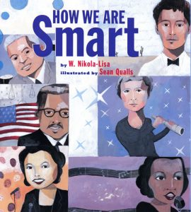 Cover of How We Are Smart depicting six Black historical figures.